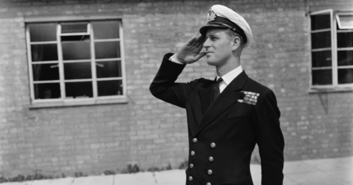 11 Pictures of Young Prince Philip in His Naval Uniform That Will Float Your Boat