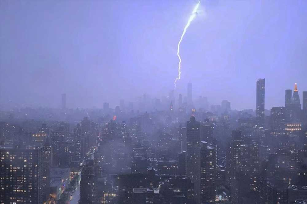Two injured at NJ high school as storms batter the tri-state area